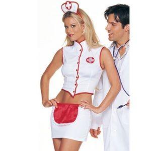 Sexy Nurse Halloween Costume